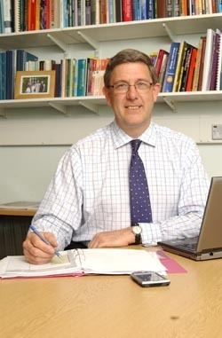 Professor Chris Higgins, new Vice-Chancellor