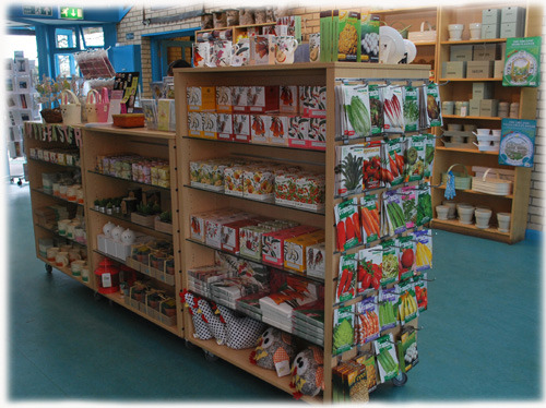 A view of the Botanic Garden Shop