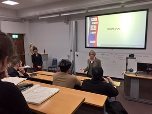 Nancy Cartwright - Talk at KCL (Jan 2017)