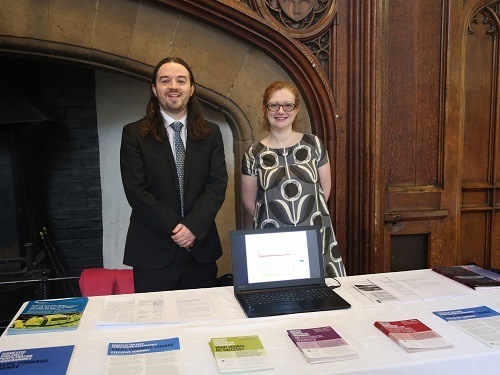 Professor Nicole Westmarland and Stephen Burrell present work on the impact of Project Mirabal at Durham Castle, January 2019