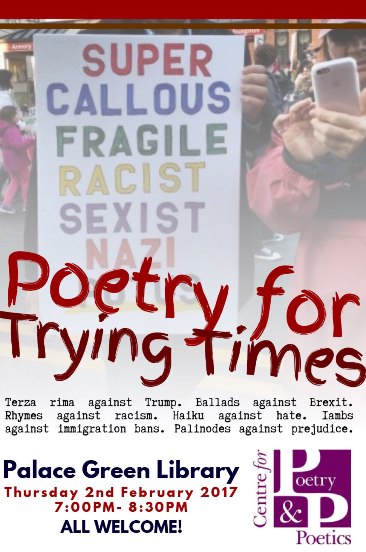 Poetry for Trying Times poster