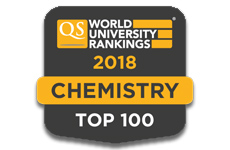 Chemistry QS Rankings 2018