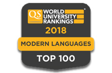 QS 2018 Rankings Modern Languages
