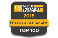 Physics QS Rankings 2018