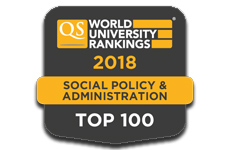 Sociology QS 2018 Rankings