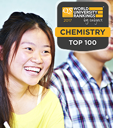 Chemistry QS Rankings 2017