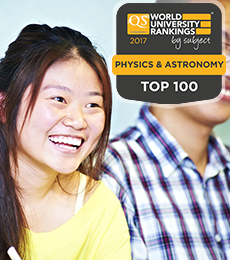 Physics QS Rankings 2017