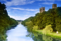 Durham Cathedral view from the River Wear