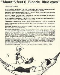 A typical 1960s career advertisement aimed at university graduates. It was originally published in Women's History review 15:1 (2006), and is reproduced here with the kind permission of Routledge.