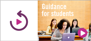 Guidance for students