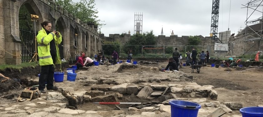 Excavations at Auckland Castle