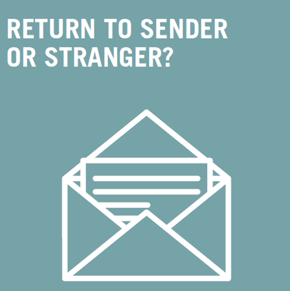 Return to stranger or sender?
