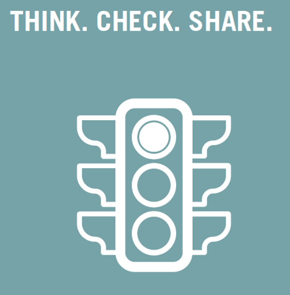 Think! Check. Share?