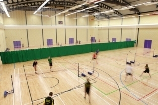 Queen's Campus Sports Hall
