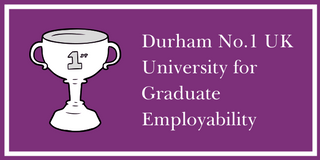 Durham top for graduate employment and further study