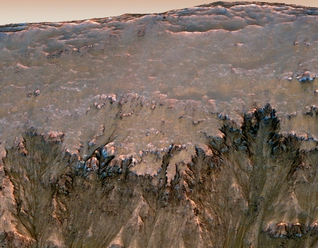 Mars might be drier than previously thought