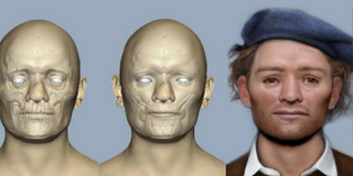 New image brings people face to face with 17th-century Scottish soldier