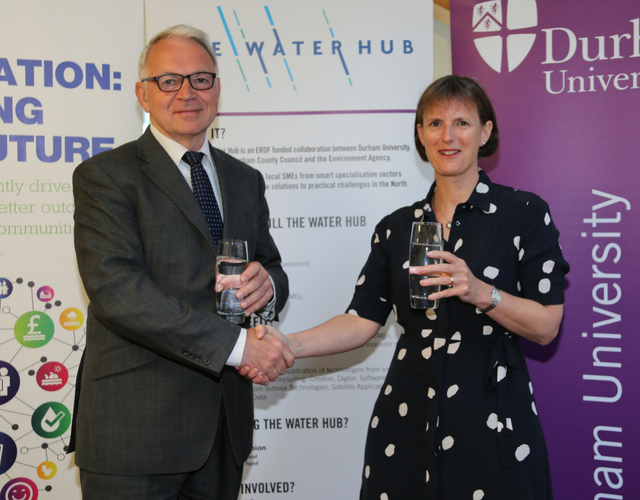 Partnership to tackle water challenges