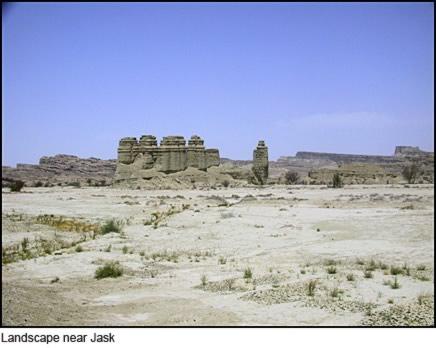 Landscape near Jask