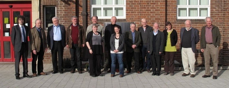 Group photograph from Feb Board meeting