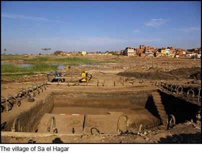 The Village of Sa el Hagar