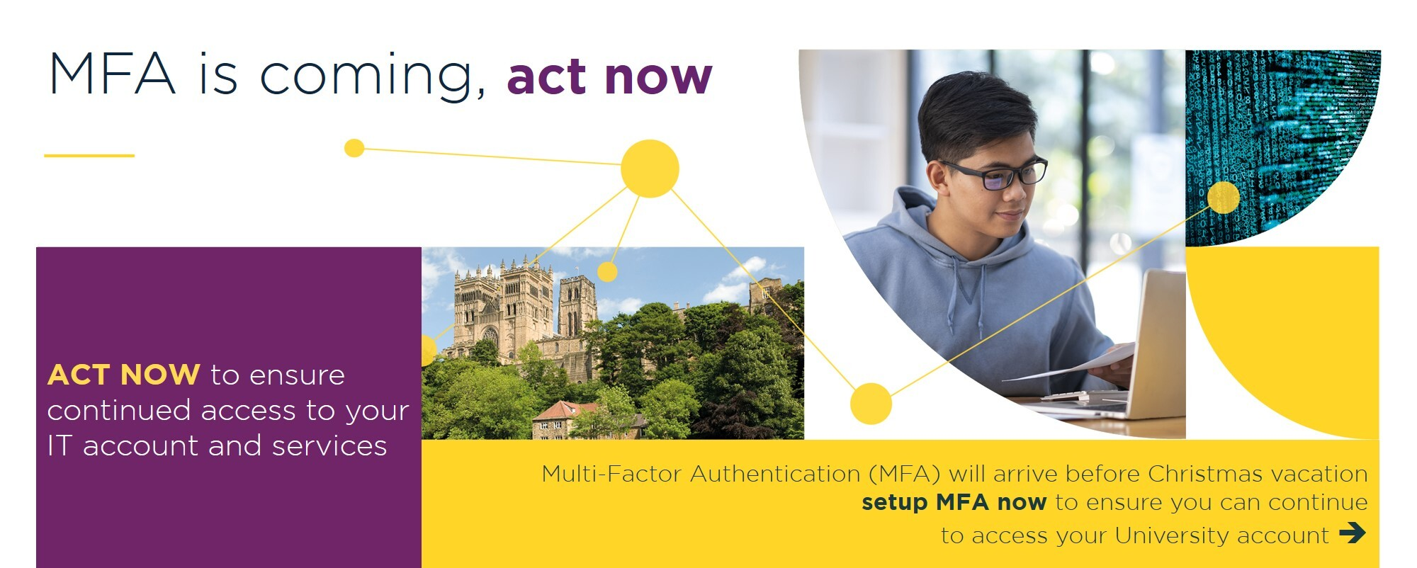 MFA is coming, act now