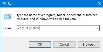Computing and Information Services : Set Default Printer