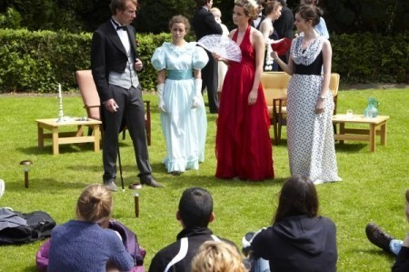 St Cuthbert's - Summer play in the garden