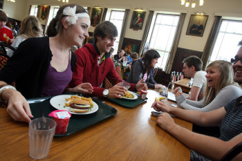 Grey College dining hall