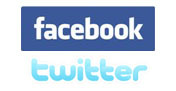 Join us on Facebook and Twitter