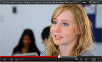 Marketing Masters students talk about their Durham University experience
