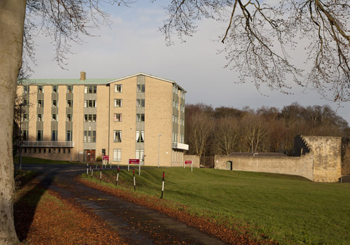 Accommodation block: teaching rooms and offices