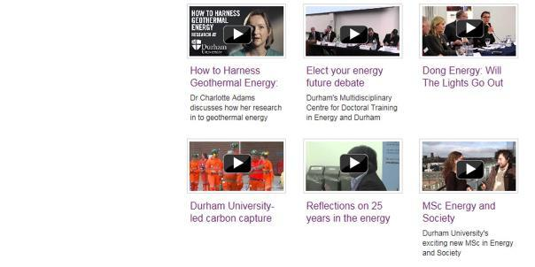 DEI talks energy: latest event videos
