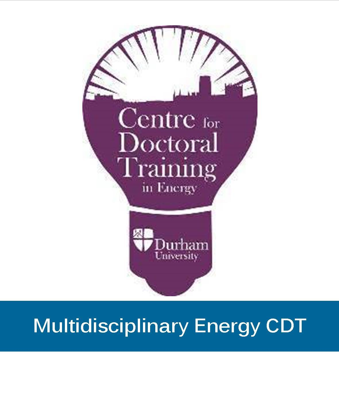 Through the CDT Energy students have the opportunity to undertake world class research within a specialist department at Durham University, but also to gain a broader knowledge of energy issues from engineering to social aspects.