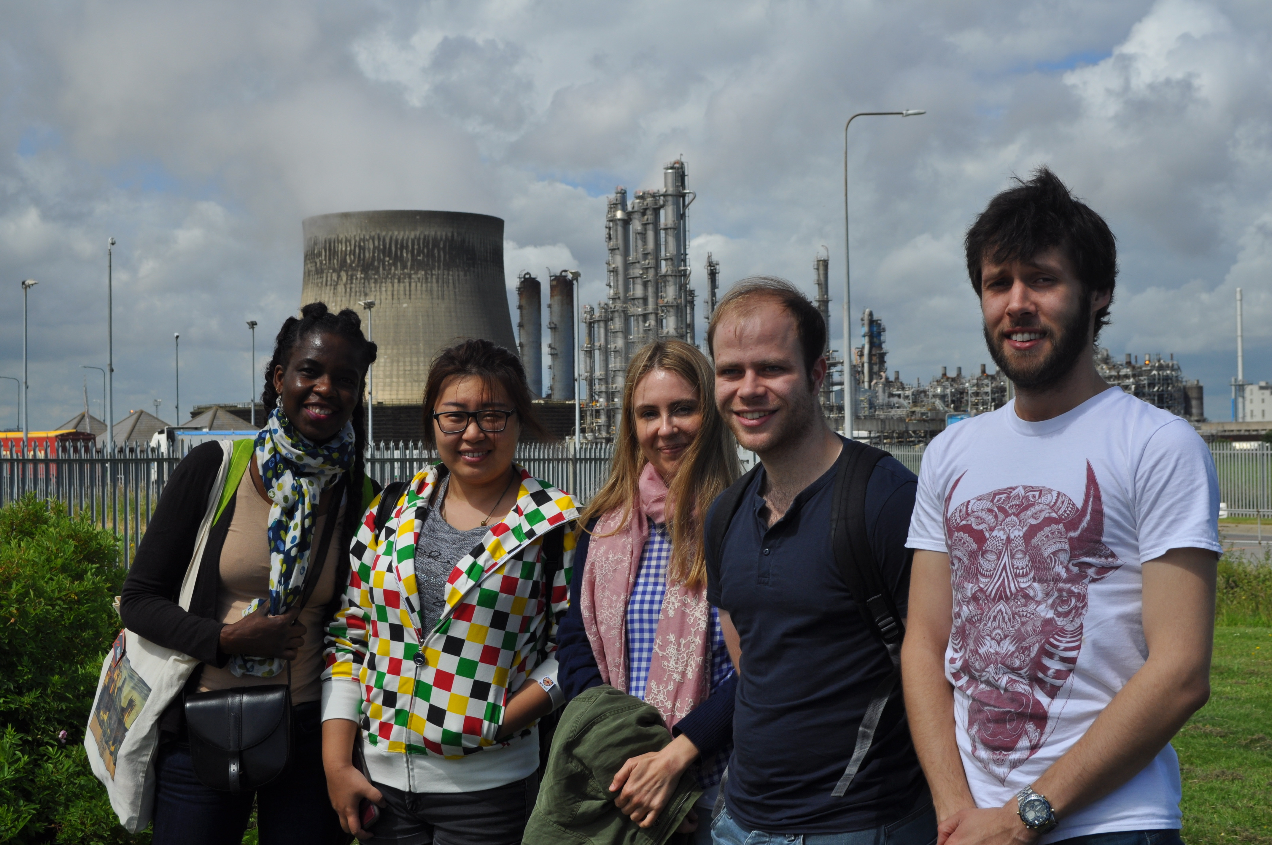 Summer school students visit teesside durham university - Durham university international office ...