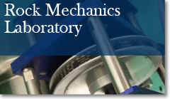 Rock Mechanics Laboratory banner