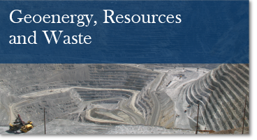 Theme: Geoenergy, Resources and Waste link button