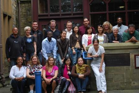 Our newest IPP cohort outside the School of Education, July 2010