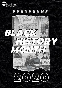 click here for the 2020 Black History Month Programme of events