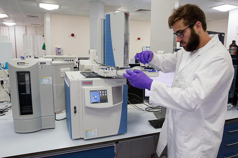 Geography Laboratories Chromatography Amp Spectrometry