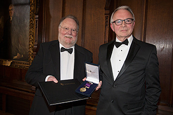 Chancellor's Medal Awarded to Professor Ian Simmons