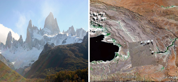 patagonian desert areas