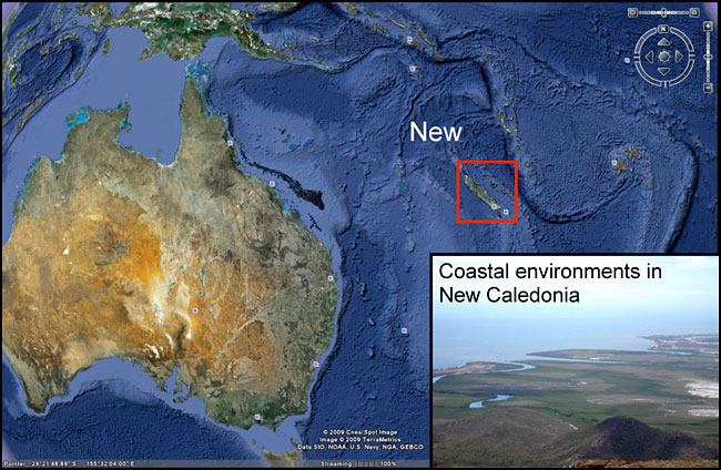 Mid-Late Holocene sea-level changes in New Caledonia