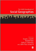 cover of Handbook of Social Geographies