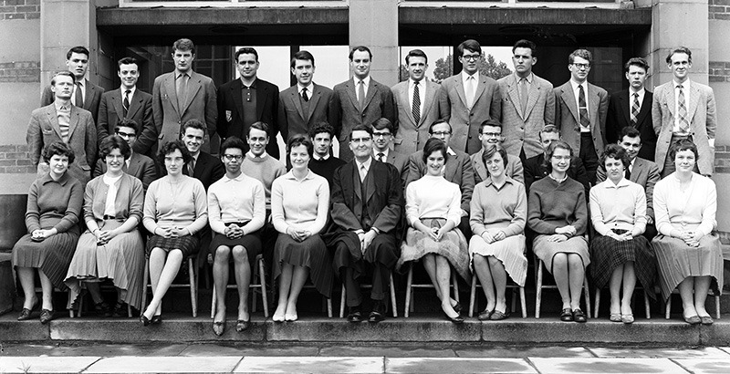department of geography   graduation 1960 - 1969