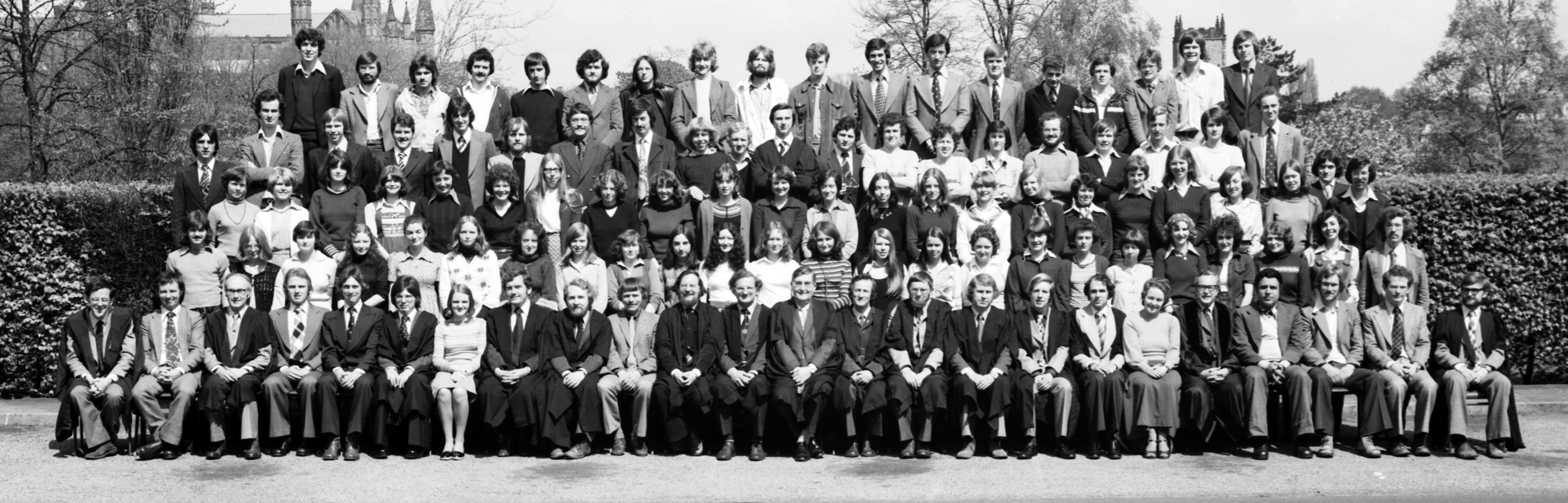 Department Of Geography Graduation 1970 1979 Durham