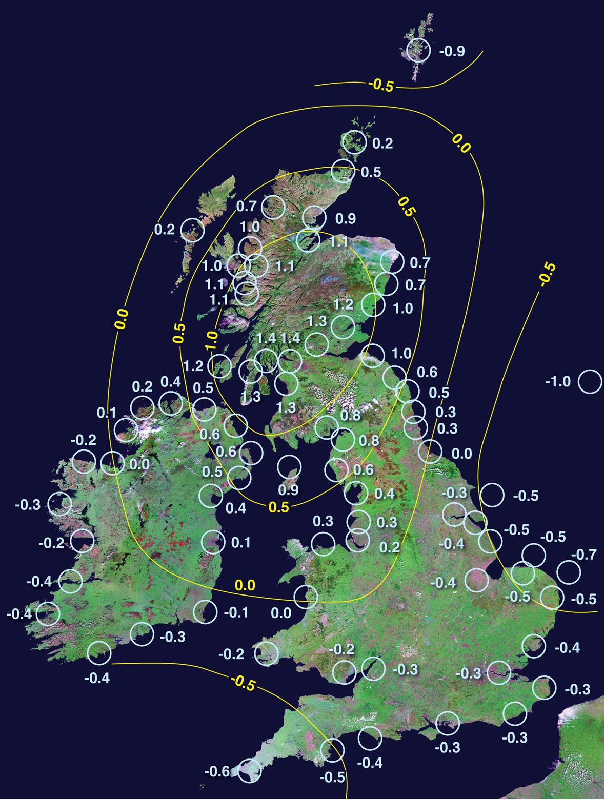 Professor I Shennan Durham University - London height above sea level map
