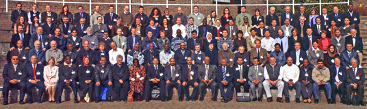 Conference group photograph