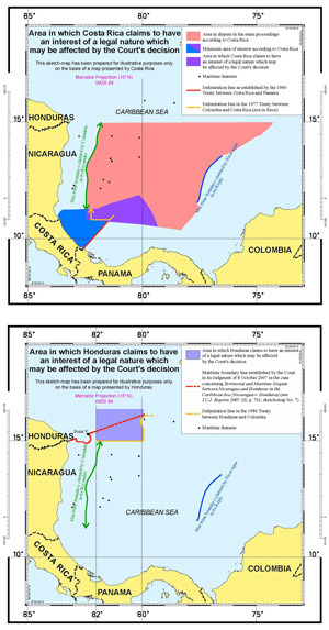 territorial and maritime dispute nicaragua v Today, the international court of justice delivered its judgment on the preliminary objections raised by colombia in the case concerning territorial and.