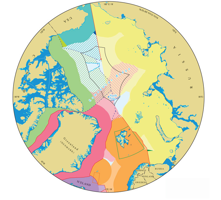 IBRU: Centre for Borders Research : Arctic maps - Durham University